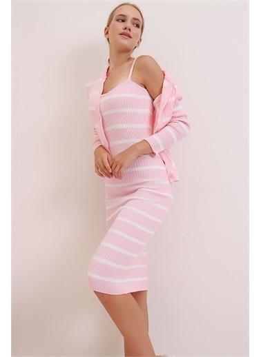 Pink Park Takım Elbise Pudra